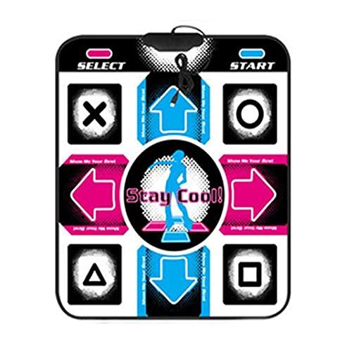 Tree-it-Life Tappetino da Ballo con Chiave Usb11 Versione Inglese Tappetino da Ballo Singolo per Computer USB Plug And Play Coperta da Ballo Macchina da Ballo Multicolore