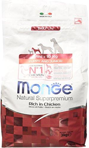 Monge Natural SUPERPREMIUM Cane Mini Puppy Alimenti Cane Secco Premium