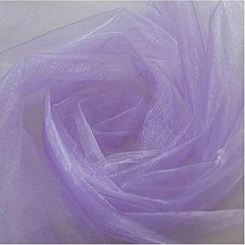 HOUJHUR Crystal Wedding Tulle Roll Organza Tela Boda Boda Fiesta de cumpleaños Telón de Fondo DecorWedding Organza Silla Asa (Color : G, Size : 1pc)