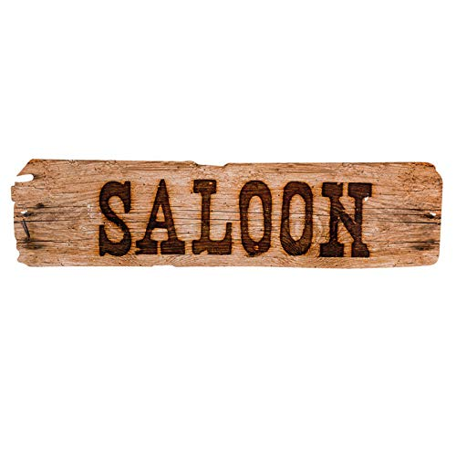 PARTY DISCOUNT Wand-Deko Saloon, 60x 13 cm