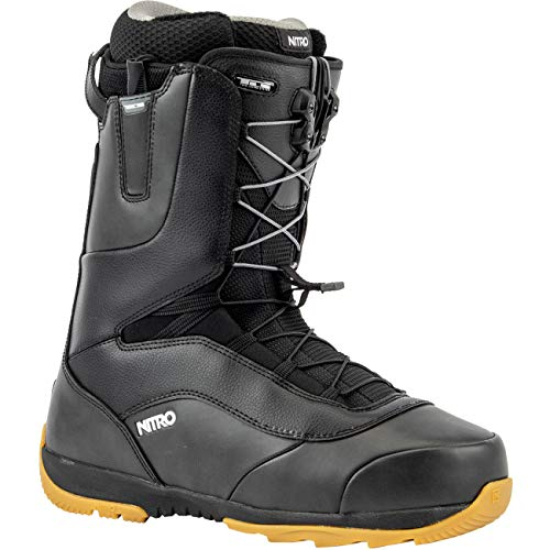 Nitro Snowboards Venture TLS '20 All Mountian Freeride Freestyle Chaussures de Snowboard pour Homme Noir Taille 28,5