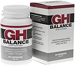 GH BALANCE – Fast Muscle Building eliminates Belly Fat Skin Tightening Rejuvenates Awaken The Desire of Women 60 Capsules for Real Men Estimated Price : £ 59,95