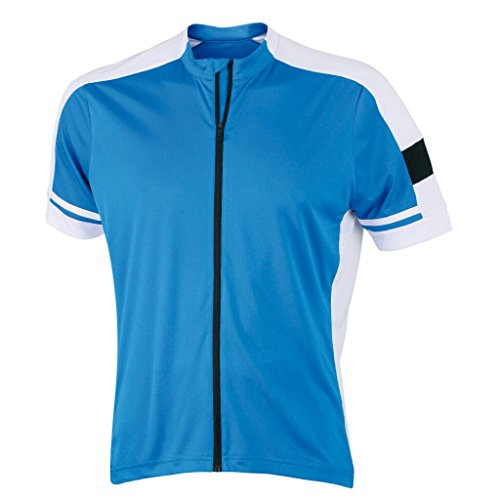 JAMES & NICHOLSON Maillot Cycliste (3XL, Cobalt)