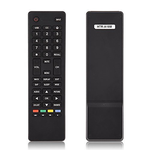 Telecomando Haier HTR-A18M TV, Telecomando Universale Adatto per Haier HTR-A18M Ricambio TV per Smart TV Haier HTR-A18M 55D3550 40D3500M 48D3500