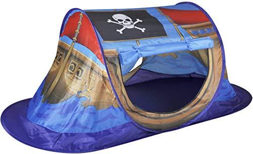 Tienda de campaña, barco pirata