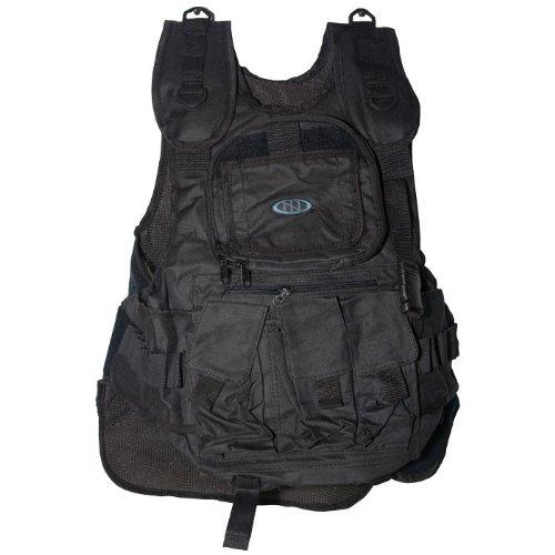 New Legion paintball vest Battle, zwart, 54334