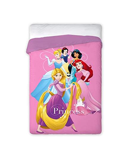 NEW IMPORT EDREDÓN Duvet NÓRDICO Disney 027 Princesas Cama 90/105