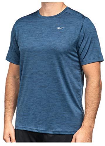 Reebok Men's Textured Active Tee (Dress Blues, XX-Large)