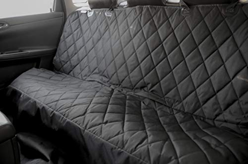 Plush Paws Standard Convertible Dog Car Seat Cover - Waterproof Car Protector for Pets
