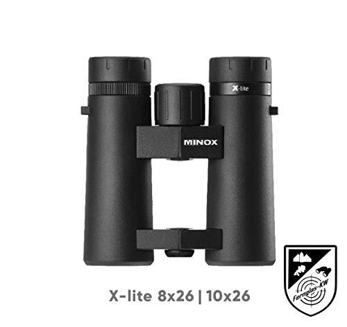 Minox 80407326 Fernglas Xlite 10x26 Neuheit für Reviergang und Outdooraktivität