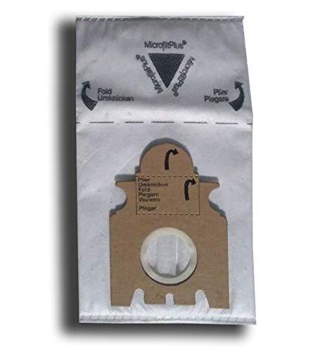10 Vlies Staubsaugerbeutel für Miele Gr. K/K, S140 - S148, S157, S163 - S169, S190 - S198, Swing H1