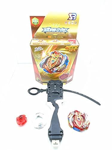 Storm-gyro (CHO-Z A CHILLES .00 .DM) B-129 Burst Blade con lanzadores de Mano peonza Juguete con Lanzador de Mano Espada Bey God