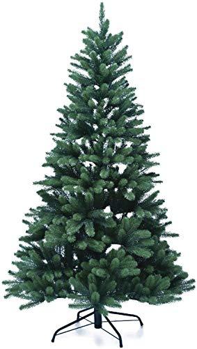 XENOTEC Voll PE Weihnachtsbaum künstlich Höhe ca. 180 cm naturgetreu im Spritzgussverfahren hergestellt