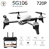 FairOnly SG106 RC Drone Flujo óptico 1080P 4K HD Cámara Dual Video...