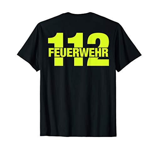 Feuerwehrmann Notruf 112 Feuerwehr T-Shirt