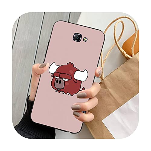 Double-sweet lindo animal de dibujos animados teléfono caso para Samsung Note 8 9 10 20 Lite pro ultra J 7 2 4 6 5 prime-a6-para J2 prime