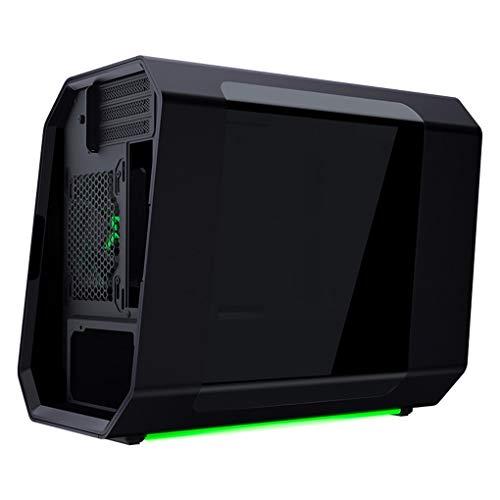 Caja De La PC, Refrigerado por Agua Caso De Escritorio del Ordenador, Caja De Ordenador Gaming Conveniente para El Líquido De Refrigeración, Negro
