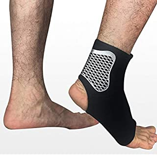 HealthyNeeds Zooboo 1 Piece Single Sport Ankle Support Elastic High Protect Pads Boxing Safety