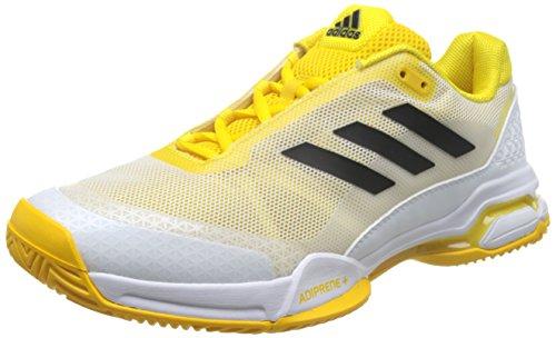 adidas Barricade Club, Zapatillas de Tenis Hombre, Amarillo (Eqtama/Negbas/Ftwbla), 49 1/3 EU