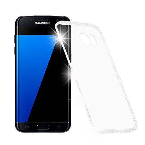 Cadorabo Funda para Samsung Galaxy S7 Edge Funda de Silicona TPU Cristal...