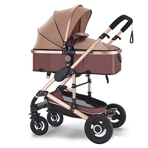 Great Price! Cozy Baby Stroller,Pram Carriage Stroller,Collapsible All Terrain Pushchair Strollerï...