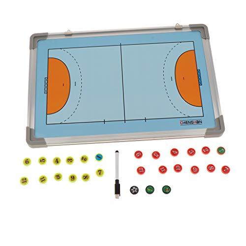 T TOOYFUL Handball Taktiktafel Fussball Coach-Board mit Stifte und Magneten für Teamsportbedarf