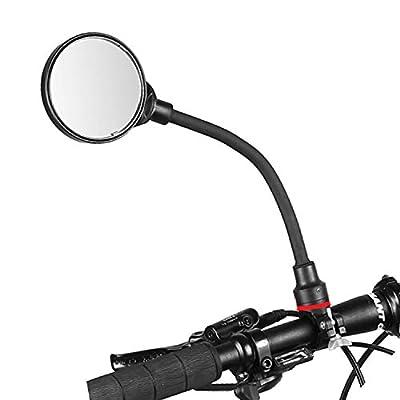 Newlight66 Bike Mirror, Adjustable Handlebar Rear View Mirrors for Mountain Road Bike Bicycle Electric Motorcycle