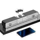 Reloj Despertador Digital, Bocina Bluetooth, Altavoz inalámbrico Bluetooth 5.0, con Pantalla LED de...