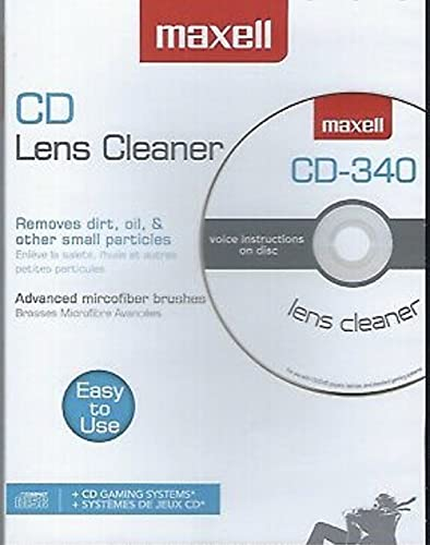 DVD Lens Cleaner for DVD Players BluRay Gaming Systems with Instructions 8 Different Languages