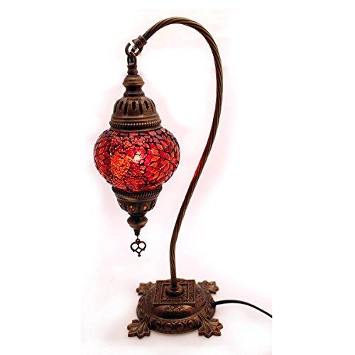 Mosaik Lampe Stehlampe Beistelllampe Tischleuchte aus Glas dekoration Gall&Zick Handarbeit Orientalisch