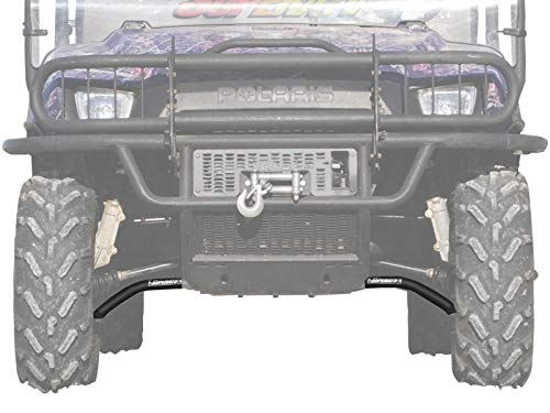 """SuperATV High Clearance 2"""" Forward Offset A-Arms for Polaris Ranger 700 / Crew (See Fitment) - Black"""