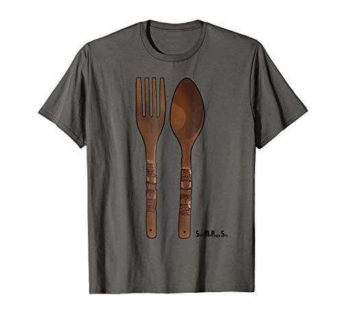 Filipino Shirt: Big Spoon & Fork