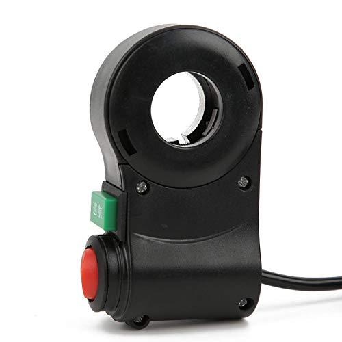 SHYEKYO Accesorio de Interruptor de Manillar de Bicicleta eléctrica, Interruptor de Manillar de Bicicleta eléctrica 5 Piezas para Coche eléctrico