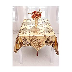 Epinki Silk Flower Pattern Table Runners for Rectangle Tables for Drawers, Shelves, Cabinets, Storage, Kitchen and Desks