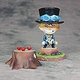 NAMFZX One Piece Childhood Sabo Bandage Sabo Anime Character Model 15cm (5.91in) Estatua estática de...