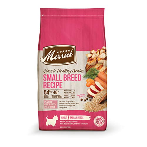 Merrick with Healthy Grains Dry Dog Food For Small Dogs