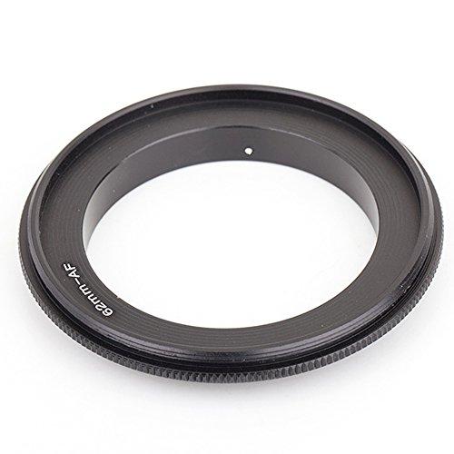 Pixco Anillo adaptador de lente macro inverso de 62 mm para cámara Sony Alpha/Minolta AF A900 A55 A35 A700 A520 A560 A550 A500 (62 mm-Sony)