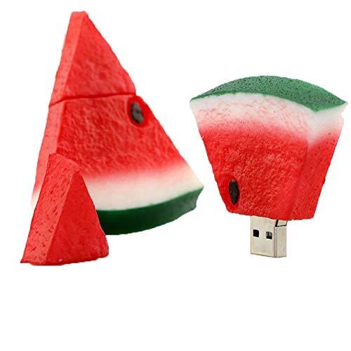 Pendrive Fruits USB Drive 64GB Cartoon Watermelon USB Flash Memory Stick Disco Flash