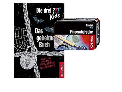 Die DREI ???-Kids: Das geheime Buch (Gebundenes Buch) + Forscherkästchen , ab 8