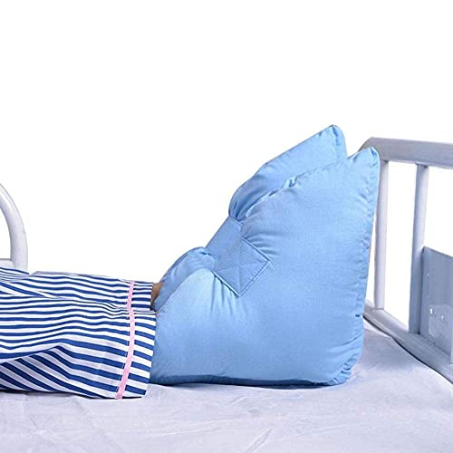 n.g. Wohnzimmerzubehör 1 Paar Anti Dekubitus Warme Fersenkissen Fersenschützer Fersenschutz Blau für Männer und Frauen