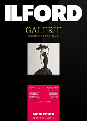 Ilford Galerie Satin Lustre, 260g, 13x18cm, 100 hojas