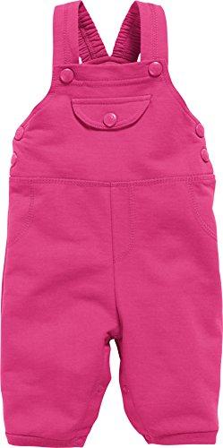 Schnizler Unisex Baby Sweat Latzhose, Rosa (Pink 18), 86
