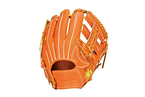 ボールパークドットコム 和牛JB 硬式用 内野手用 右投用 遊撃手用 ショート グラブ 硬式グローブ オレンジ JB-006S