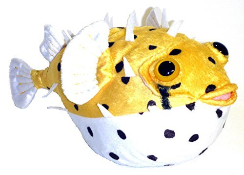 "Adore 12"" Fugu The Porcupine Pufferfish Plush Stuffed Animal Toy"