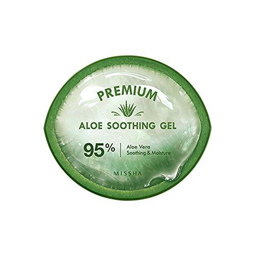 Missha Premium Aloe Soothing Gel 95% Aloe Vera Beruhigende & Feuchtigkeit 300ml