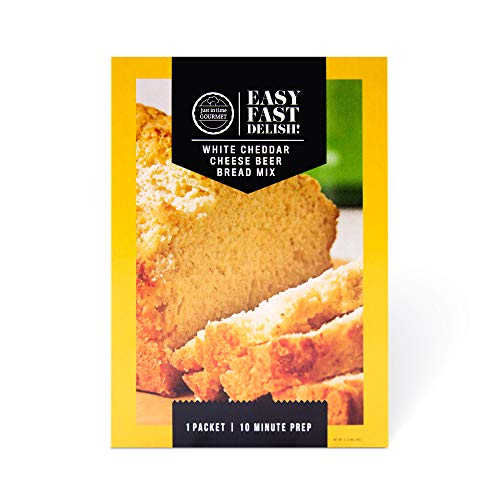 Just In Time Gourmet White Cheddar Cheese Beer Bread Mix (1 mix in box)