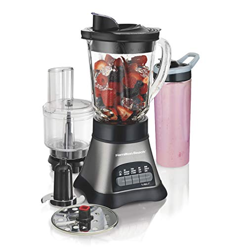 Hamilton Beach Wave Crusher Blender with 40oz Jar, 3-Cup...