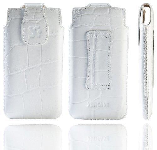 Suncase 41473621 - Funda de cuero para Nokia Lumia 820 diseño cocodrilo,...