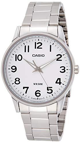 Casio Collection Herren Armbanduhr MTP-1303PD-7BVEF, Weiß