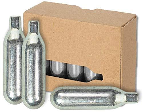 BierMaxx Zapfprofi - Cartuchos de CO2 para tiradores de cerveza BierMaxx (20 unidades, 16 g)